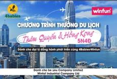 4Babies và Winfun tổ chức tour du lịch Hồng Kông và Thẩm Quyến dành tặng các đối tác hoạt động hiệu quả năm 2019