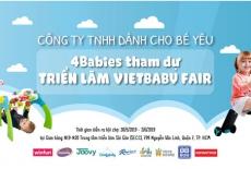 4Babies Tham Gia Hội Trợ VietBaby Fair Với Hàng Loạt Những Chương Trình Ưu Đãi Hấp Dẫn