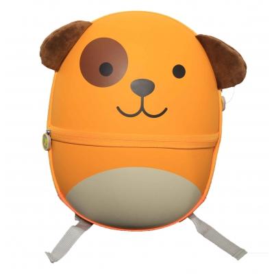 Ba lô chống xước BB Bag có ngăn phụ phía ngoài hình gấu bear vàng BB309B