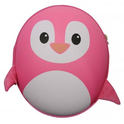 Ba lô chống xước BB Bag hình chim cánh cụt đáng yêu màu hồng BB313C