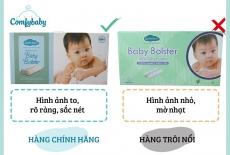 Cách phân biệt gối chặn sợi tre bamboo Comfybaby chính hãng và sản phẩm không rõ nguồn gốc