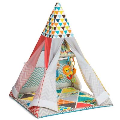 Nhà lều kèm đồ chơi treo cũi đa năng GoGaGa Infantino 005345