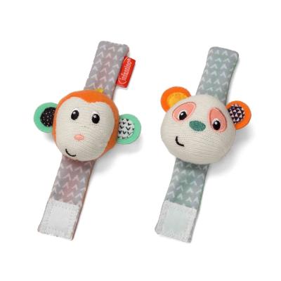 Lục lạc đeo tay chân gấu và bạn khỉ Infantino 206892
