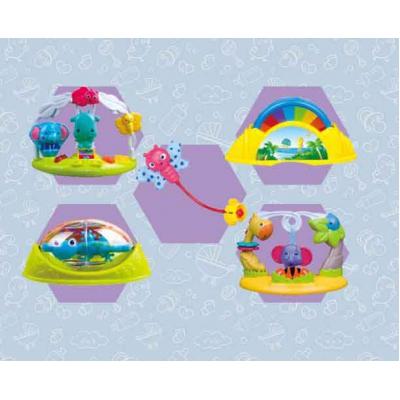 Ghế nhún tập đứng Konig Kids KK63568 có đèn nhạc (kèm pin)