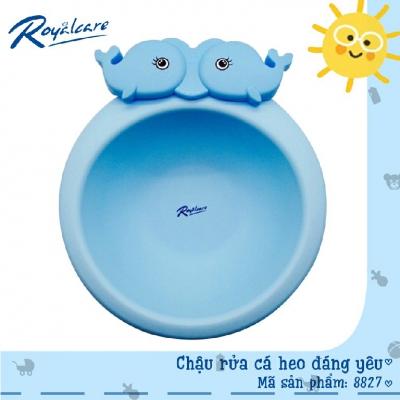 Chậu rửa mặt cá heo đáng yêu Royalcare 8827
