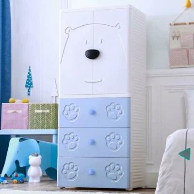 Tủ quần áo trẻ em hình gấu Royalcare RC01194