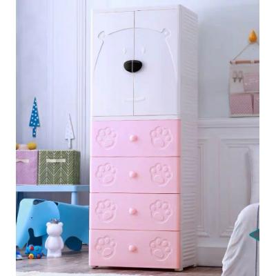 Tủ quần áo trẻ em hình gấu Royalcare RC01195