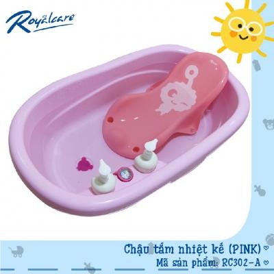 Chậu tắm trẻ em kèm nhiệt kế Royalcare RC302-A