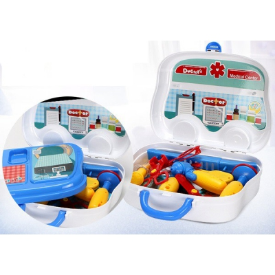 Vali đồ chơi bác sỹ màu xanh Toys House 008-918