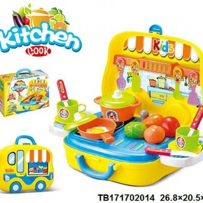 Hộp bếp nấu ăn hình ô tô Toys House 008-919