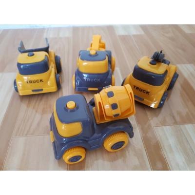 Set 4 ô tô mô hình xây dựng Toys House 709C