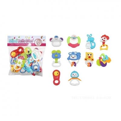 Túi đồ chơi xúc xắc 10 món Toys House 776-16