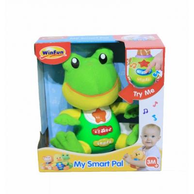 Đồ chơi chú ếch xanh biết đọc chữ 000635 hiệu Winfun