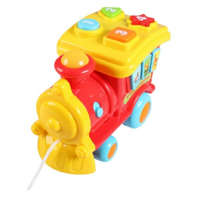 Đầu tàu hỏa điều khiển phát nhạc có đèn sáng Winfun 0677-NL