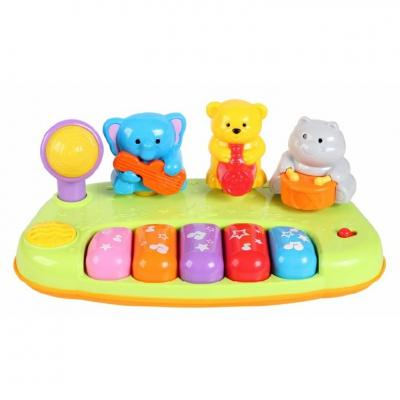 Đàn nhạc Piano đồ chơi động vật hoang dã mini Winfun 2012