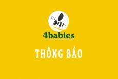 Thông báo V/v Sản phẩm gối chặn sợi tre Bamboo Comfybaby