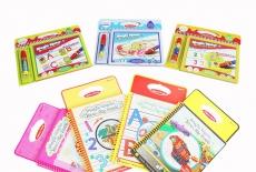 Sách tô màu thần kỳ bút nước Toys House – món quà ý nghĩa cha mẹ dành cho con