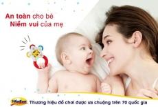 Thương hiệu đồ chơi Winfun chính thức có mặt tại Việt Nam