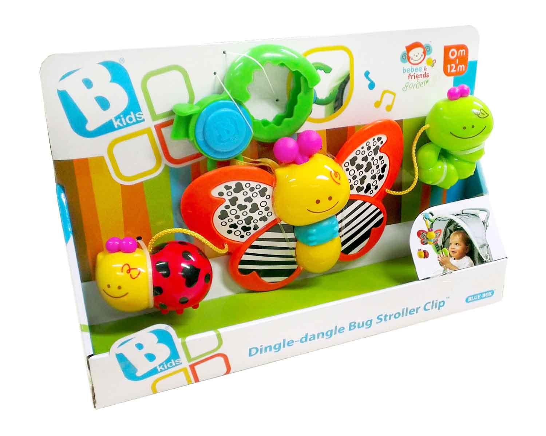Đồ chơi treo cũi, xe đẩy hình chú bọ vui nhộn BKIDS 004376 dành cho các bé từ 0 tuổi