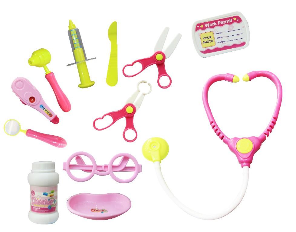 Các dụng cụ của bộ đồ chơi bác sỹ 660-17