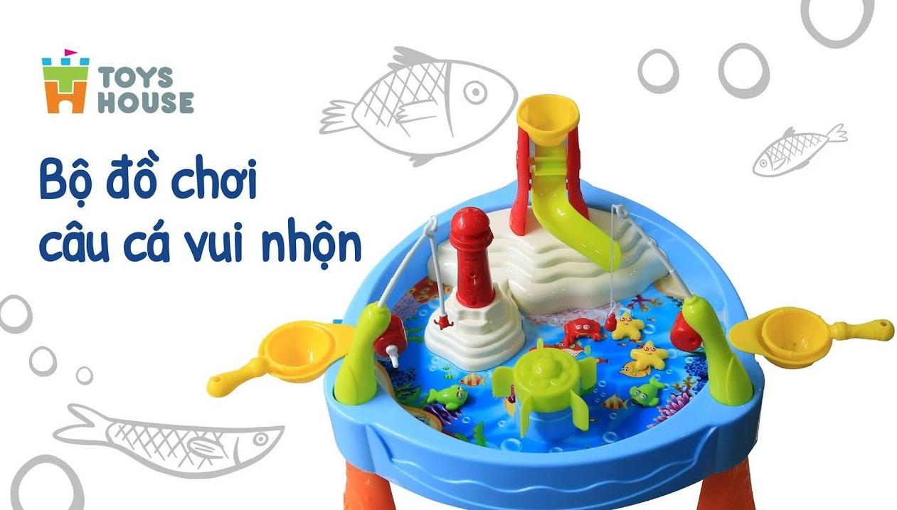 Nơi bán bộ câu cá có đèn nhạc Toys House chính hãng, giá rẻ