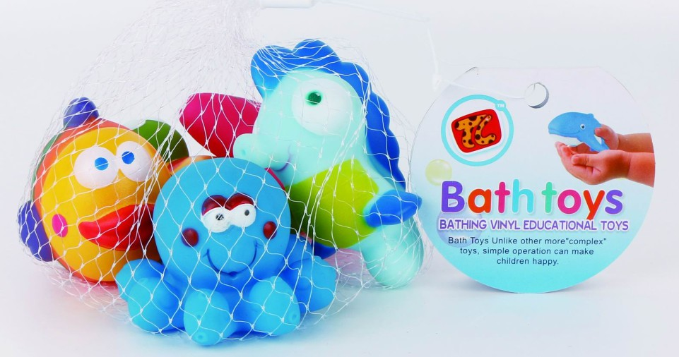 Set đồ chơi tắm 6 món Toys House TL811-2 chất liệu nhựa cao cấp an toàn cho sức khoẻ của bé