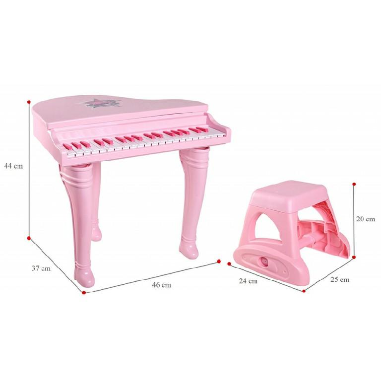 Đàn piano cổ điển kèm mic Winfun 2045 giúp bé phát triển toàn diện