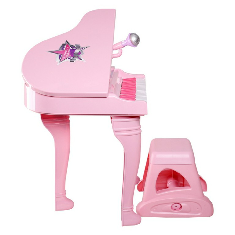 Đàn piano cổ điển kèm mic Winfun 2045 thiết kế thông minh đẹp mắt, được nhiều bé yêu thích