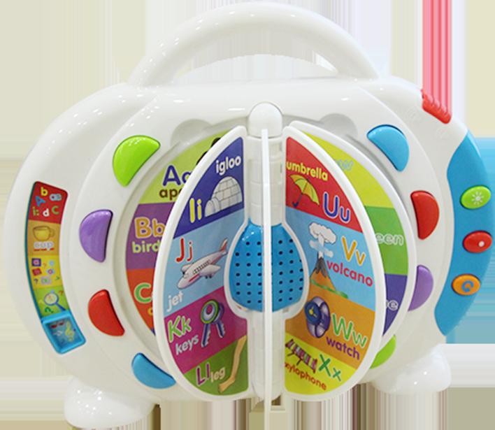 Máy học tiếng anh thông minh Winfun 2267 cho bé vừa chơi vừa học, giúp rèn luyện khả năng ghi nhớ tốt hơn
