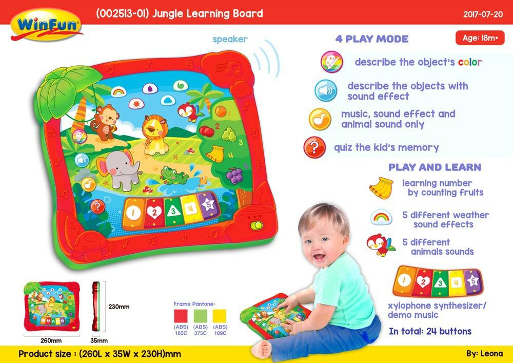 Các loại đồ chơi cho bé vừa học vừa chơi
