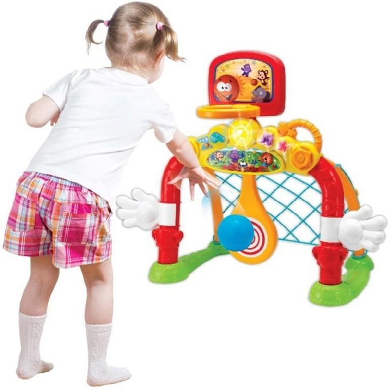 Bộ đồ chơi Cầu môn 4 trong 1 Winfun đảm bảo an toàn cho bé