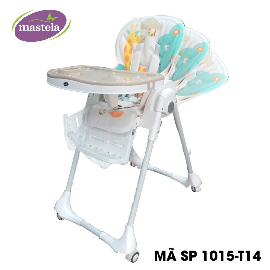Ghế ngồi ăn cao Mastela 0619-MSTL-1015-T14 màu nâu hình hươu cao cổ